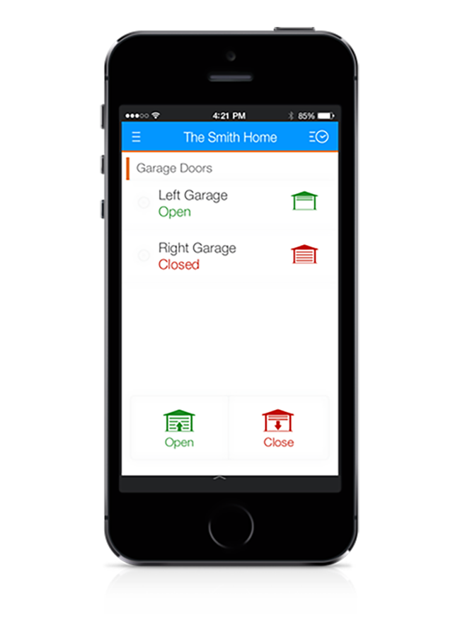 ADT phone app home automation and security